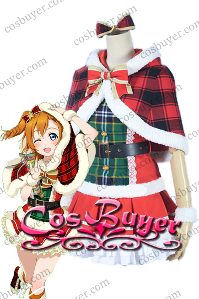 高坂穂乃果 クリスマス衣装